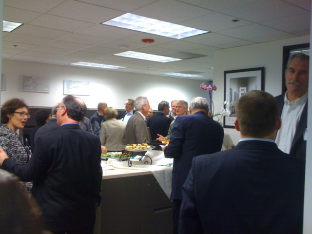 Safe Investor Booksigning event attendees 3