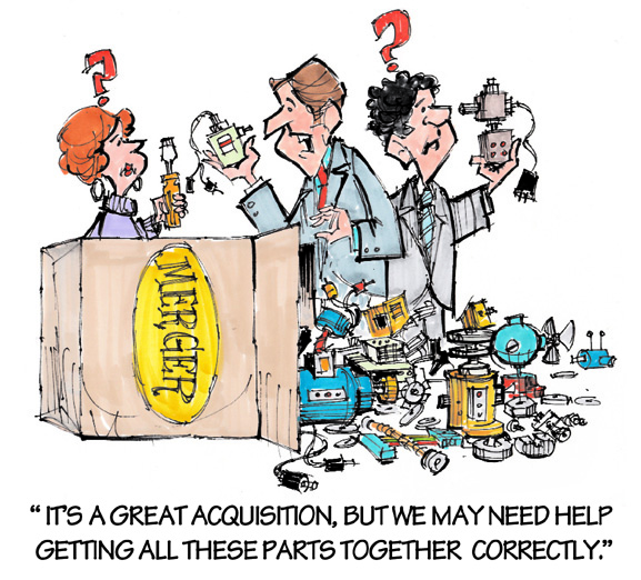 Merger Cartoon