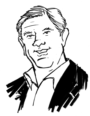Phil J. Caricature