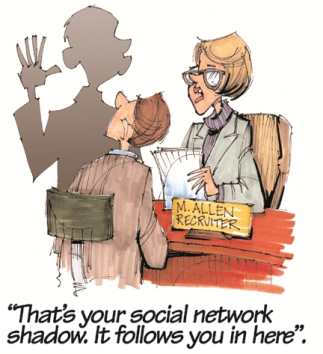 Social Net Cartoon
