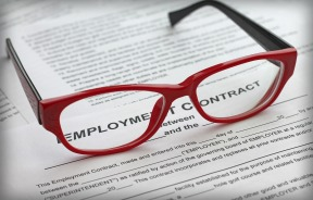 employment contract red glas 300sm